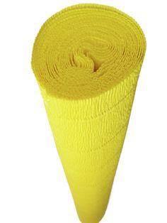 Italian Crepe Paper roll 180 gram - 575 LEMON
