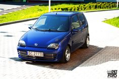 Fiat Seicento with a turbo L T-Jet Abarth 500 engine Fiat 600, Engine Swap, Small Engine, Kit Cars, Small Cars, Engineering, Bike, Vehicles, Sports