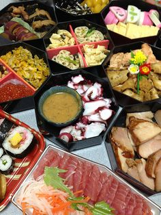 Osechi Ryori: the menu for Japanese New Year