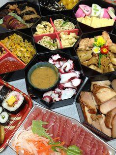 Osechi Ryori: the menu for Japanese New Year