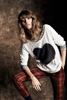 Freja Beha Erichsen Stars in Reserved's Fall 2013 Lookbook