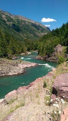 Glacier National Park McDonald Creek