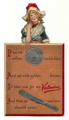 Valentijnskaarten maken, geschiedenis van valentijn , oude valentijnskaarten Old Postcards, Baseball Cards, Cover, Books, Art, Art Background, Libros, Book, Kunst