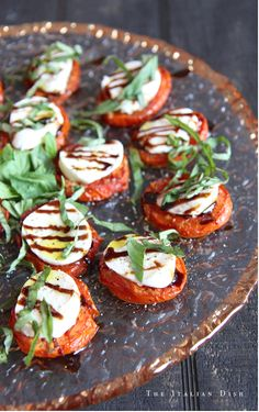 Have you ever wanted to fix a Caprese Salad during the winter months but didn't, because you knew it just wasn't going to be any good with bland, anemic winter tomatoes? Well, if you use this method