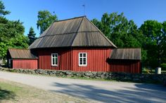 Västanfjärd Old Church. Homeland, Finland, Dna, Places To Go, Construction, Cabin, House Styles, Building, Home Decor