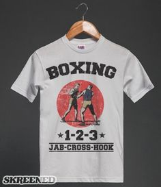 Boxing tee only $15.74!!