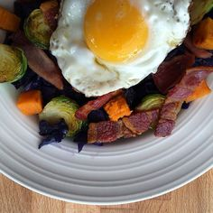 My Brilliant Breakfast Bowl is off the charts!! Check out the recipe for this Gluten Free, Dairy Free, Paleo & Whole 30 Breakfast on www.thewonkyspatula.com