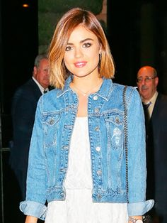 Lucy Hale outside her hotel in NYC - August 6, 2015