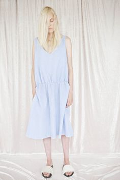 Norwegian Clothing Brands, Ss 17, Cabin Fever, Runway, White Dress, Summer Dresses, Model, Stuff To Buy, Clothes