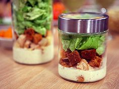 Ensalada en frasco/ Salad in Jar