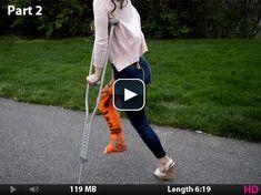 Lauren - Fashionably Casted - Cast Art at it's Best Cast Art, Crutches, It Cast, Model, Crutch, Scale Model, Models, Template