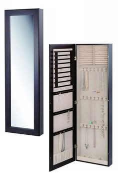 1000 Ideas About Mirror Jewelry Storage On Pinterest