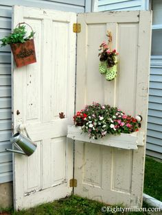 DIY Outdoor Recycling Inspiration:  Think Spring, Part One