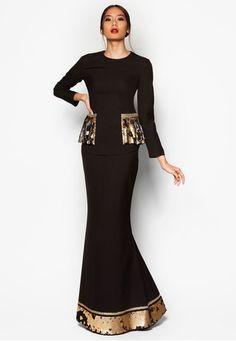 Art Deco Aera Baju Kurung