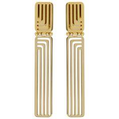 Lanvin - Gold Beyond Earrings