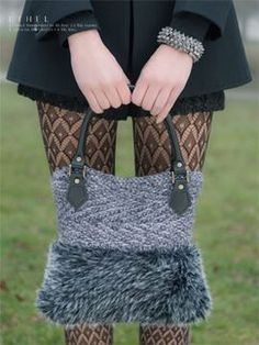 Luzia: Yarn by Louisa Harding | Knitting Fever.  Why am I loving this fake fur yarn????  Beats me.  Louisa Harding's designs for it are adorable though.