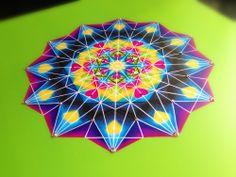 MANDALA OF FOURTH CHAKRA (heart chakra)  www.lapetien.com