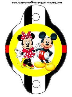 Imprimibles de Minnie y Mickey 7.