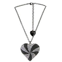 Wear To Buy  - Tarina Tarantino Paramour Licorice Whip Heart Necklace (http://www.weartobuy.net/products/Tarina-Tarantino-Paramour-Licorice-Whip-Heart-Necklace.html)