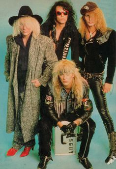 80's eye candy Poison! @Renae Ross Cory