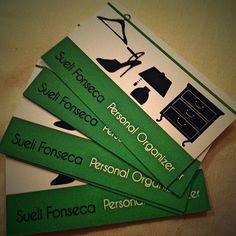 Sueli Fonseca - Personal organizer!  Cartão de visita.