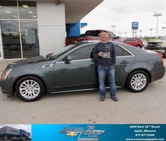 #HappyAnniversary to Terry Beckham II on your 2012 #Cadillac #Cts from Lee Romie at Crossroads Chevrolet Cadillac!