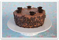 Sarahs Torten und Cupcakes: Schnelle Schoko-Biskuit-Torte