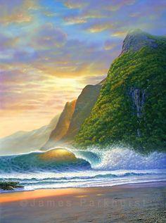 Home & Garden Ocean Wave Waterfall Sea Wave Door Sticker Design Colorful Art Surfing Door Mural Door Picture For Living Room Home Decoration Volume Large Wall Stickers