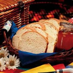 Yummy easy bread recipe-having this on Christmas day with homemade preserves from last summer's bounty...