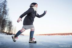 Hääräämö: Swantseissa Kemijoen jäällä