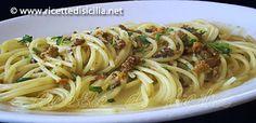 Ricetta siciliana pasta con ricci di mare
