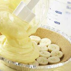 Double Banana Cream Pie Recipe