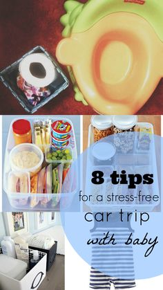 8 Tips For A Stress-Free Car Trip with Baby
