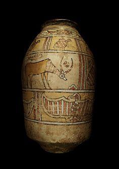 Indus Valley jar, circa: 2500 BC ●彡 Ancient Greece, Ancient Egypt, Ancient History, Bronze Age Civilization, Indus Valley Civilization, History Of India, Art History, Harappan, Mohenjo Daro