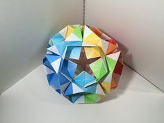 【創作ユニット】こなすけA30枚組【Modular Origami】22 - YouTube