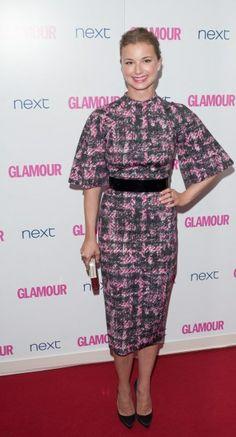 Emily Van Camo wearing Graziela Gems at 2014 Glamour Women of the Year.