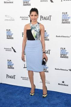 Freida Pinto in Bibhu Mohapatra  at the 2016 Independent Spirit Awards
