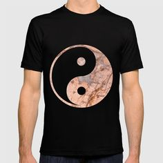 Yin Yang - Rose Turquoise Marble T-shirt by staypositivedesign Yin Yang, Cool T Shirts, Cool Stuff, Stuff To Buy, Turquoise, Mens Tops, Fashion, Moda, Fashion Styles
