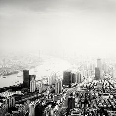 Black White Photos of Shanghai