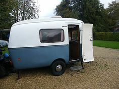 1971 Biod Bambi 2L, 2 berth Dutch fibreglass unusual classic caravan