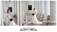 College Station Bridal Session on Texas A campus