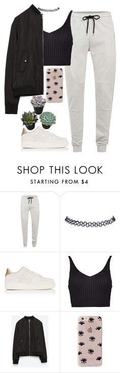 """i ' m f i r s t ☽"" by anny15fashion ❤ liked on Polyvore featuring Topman, Wet Seal, NIKE, Boohoo, Zara and Sonix"