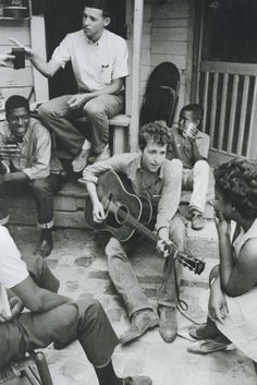 Porch jamming - Bob Dylan