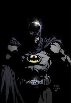Batman (Batman Inc. style) by David Finch. I wish they would have kept the Bat-oval for a while longer...