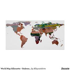 World map silhouette pecans in a design poster world design world map silhouette pecans in a design poster world design posters and poster gumiabroncs Gallery