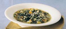 Minestra di riso e spinaci ricetta