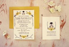 cute shower invites by @kelli murray
