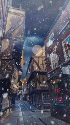 Snowing In The Wizarding World | Harry Potter