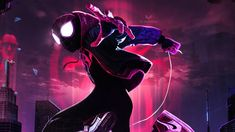 This HD wallpaper is about Spider-Man Into the Spider-Verse Artwork, Original wallpaper dimensions is file size is Disney Desktop Wallpaper, Hd Wallpaper, Miles Morales Spiderman, Spiderman Cosplay, Spiderman Marvel, Frozen Film, Anime Backgrounds Wallpapers, Original Wallpaper, Amazing Spiderman