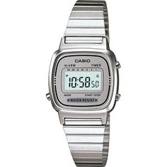48270a5a35a Relógio Feminino Casio Vintage Digital - Americanas.com Relógio Casio Prata